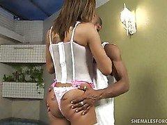 Patricia Andrade Loves Her Tranny Dick