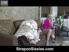 Hilda&Ernest sissified guy straponfucked