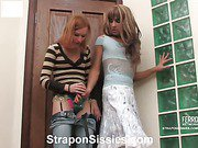 Emilia&Gilbert malewhore videotaped while straponfucked