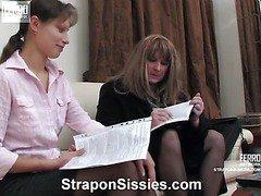 Tina&Nikola female clothed couple on video