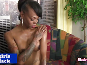 nubian tranny saturates sperm