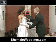 joany&tony just married shemale duo