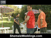 patricia_bismarck&senna shemale fucks her fiance