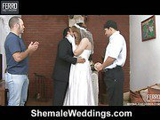 patricia_bismarck&matheus just married shemale duo