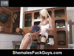 Shakira&Lucas shemale screwing boy on video