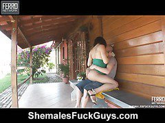 Adriana&Eduardo tranny and pussydude on video