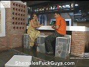 Laura&Sena shemale fucks boy movie