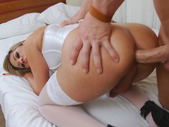 Sexy Tgirl Nicole Bahls Loves It In The Butt