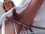 transexual pumps trannys butt