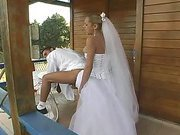 sweet blonde shemale bride on her lover 3