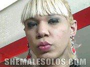 Big Cock Blonde TS Lady G