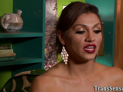 Ts beauty shoots sperm load