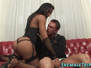 shemale honey gets banged
