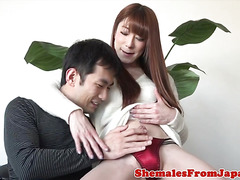 asian newhalf ladyboy screwed after switching