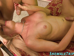 transexual double penetrated