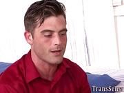 Cummed latina transgender