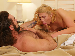 TS Aspen gets  anal fuck by a hunk stud